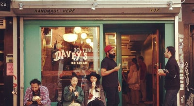 Photo of Ice Cream Shop Davey's Ice Cream at 137 1st Ave, New York, NY 10003, United States