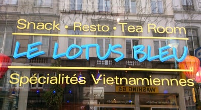 Photo of Vietnamese Restaurant Le Lotus Bleu at Zuidstraat 70 Rue Du Midi, Brussels 1000, Belgium