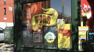 Photo of Bookstore Word at 126 Franklin St, Brooklyn, NY 11222, United States