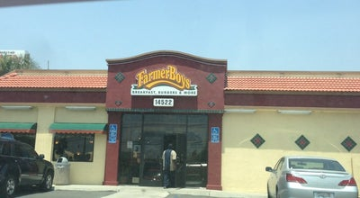 Photo of American Restaurant Farmer Boys at 14522 Slover Ave, Fontana, CA 92337, United States