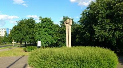 Photo of Outdoor Sculpture Pomnik Gagarina at Park Gagarina, Poznań, Poland