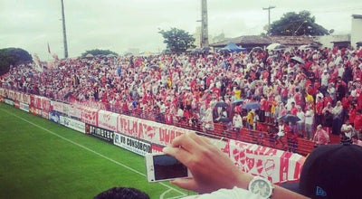 Photo of Soccer Stadium Estádio Onésio Brasileiro Alvarenga (OBA) - Vila Nova FC at Goiânia 74610-070, Brazil