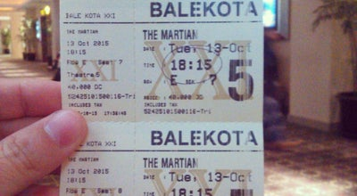 Photo of Movie Theater Xxi Mall Bale Kota at Indonesia