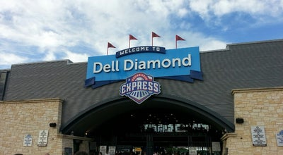 Photo of Baseball Stadium Dell Diamond at 3400 E Palm Valley Blvd, Round Rock, TX 78665, United States