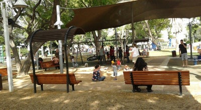 Photo of Playground Dubnov Park at Dubnov St., Tel Aviv, Israel