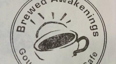 Photo of Coffee Shop Brewed Awakenings Gourmet Coffee Cafe at 1000 New Bridge St, Jacksonville, NC 28540, United States