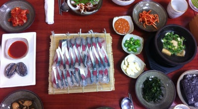 Photo of Korean Restaurant 만선식당 at 대정읍 하모항구로 44, 서귀포시 699-935, South Korea
