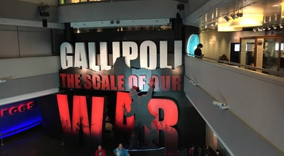 Photo of History Museum Gallipoli: The Scale of Our War at Te Papa, Wellington, New Zealand