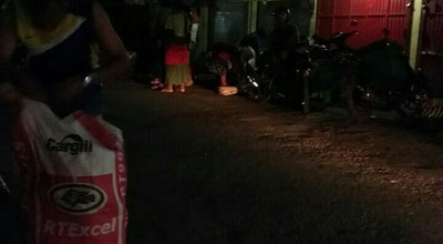 Photo of Arcade Pasar Bunder at Sragen, Indonesia
