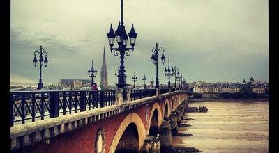 Photo of Bridge Pont de Pierre at Pont De Pierre, Bordeaux 33000, France