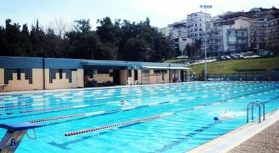 Photo of Pool Κολυμβητήριο Συκεών at Λεχόβου 7, Θεσσαλονίκη 566 26, Greece