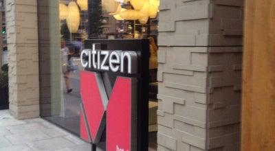 Photo of Hotel citizenM London Bankside at 20 Lavington St, London SE1 0NZ, United Kingdom