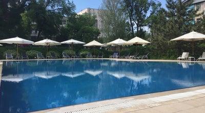 Photo of Pool Hyatt Regency Swimming Pool at Abdrahmanov St.161, Bishkek, Kyrgyzstan