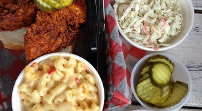 Photo of Fried Chicken Joint Hattie B's Hot Chicken at 112 19th Ave S, Nashville, TN 37203, United States