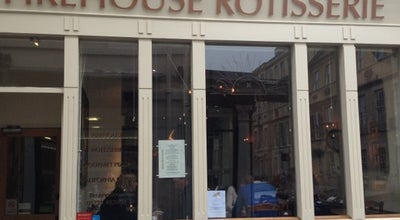 Photo of American Restaurant Firehouse Rotisserie at 2 John St., Bath BA1 2JL, United Kingdom