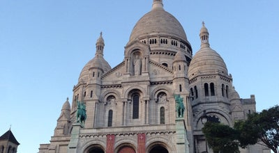 Photo of Monument / Landmark Basilica du Sacré-Coeur de Montmartre at 35 Rue Du Chevalier-de-la-barre, Paris 75018, France