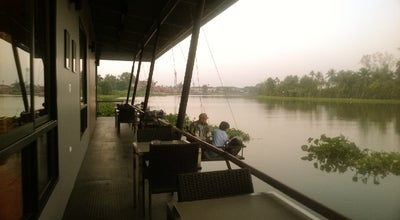 Photo of Cafe RIVA Floating Cafe at Phutthamonthon Sai 7, Samphran 73110, Thailand