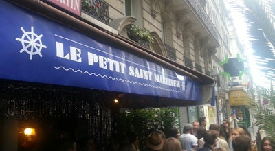 Photo of Bistro Le Petit Saint-Martin at 90 Rue Du Faubourg Saint-martin, Paris 75010, France