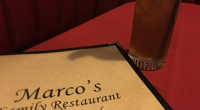 Photo of Italian Restaurant Marco's Restaurant at 763 Palm Ave, Imperial Beach, CA 91932, United States