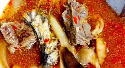 Photo of Diner ข้าวต้มปลากะพง at ข้างตลาดสดเทศบาล, Tha Wang, Thailand