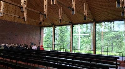 Photo of Church Otaniemen Kappeli at Jämeräntaival 8, Espoo 02150, Finland