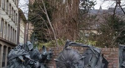 Photo of Historic Site Stadterhebungsmonument at Müller-schlosser-gasse, Düsseldorf, Germany