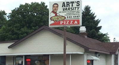 Photo of Pizza Place Art's Varsity Pizza at 2822 Main St, Anderson, IN 46016, United States