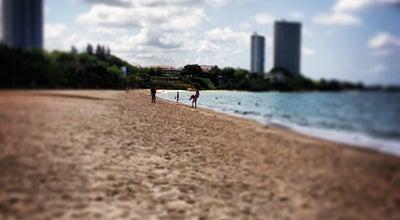 Photo of Beach ชายหาดบ้านอำเภอ at Ban Amphoe, Thailand
