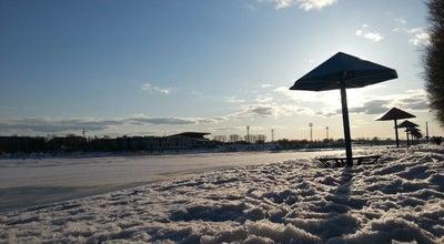 Photo of Beach Центральный городской пляж at Наб. Афанасия Никитина, Tver', Russia