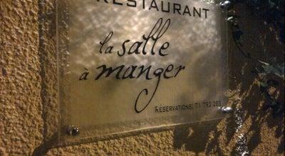 Photo of French Restaurant La Salle à Manger at 3, Rue Imam Sahnoum, Tunis Belvédère 1002, Tunisia