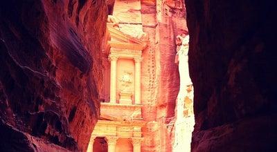 Photo of Historic Site Petra البتراء at Petra Ruins, Petra, Jordan
