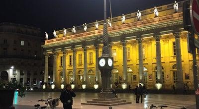 Photo of Cultural Center Opéra National de Bordeaux at Place De La Comédie, Bordeaux 33000, France