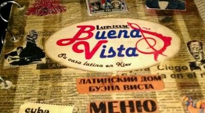 Photo of Cuban Restaurant Buena Vista Bar at Вул. Велика Житомирська, 8/14, Київ, Ukraine