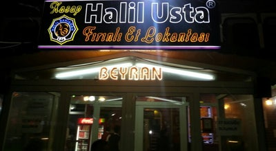 Photo of Kebab Restaurant Kasap Halil Usta at Fatih Mah. 24 No'lu Sok. No:9, Gaziantep, Turkey