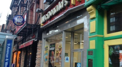 Photo of Fast Food Restaurant McDonald's at 735 9th Ave, New York, NY 10019, United States