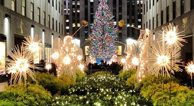 Photo of Monument / Landmark Rockefeller Center Promenade at 30 Rockefeller Plz, New York, NY 10020, United States