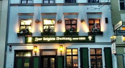 Photo of German Restaurant Zur Letzten Instanz at Waisenstraße 14-16, Berlin 10179, Germany