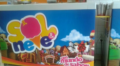 Photo of Ice Cream Shop Sorveteria Sol e Neve at Brazil