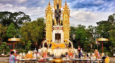 Photo of Monument / Landmark อนุสาวรีย์พ่อขุนเม็งรายมหาราช (King Mengrai Monument) at Phahon Yothin Rd., Mueang Chiang Rai 57000, Thailand