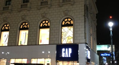 Photo of Clothing Store Gap at 60 W 34th St, New York, NY 10001