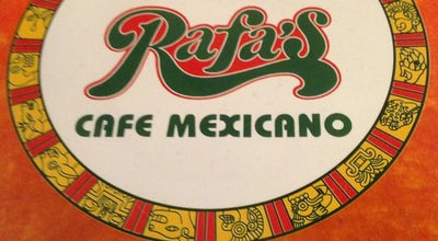 Photo of Mexican Restaurant Rafa's Cafe Mexicano at 5617 W Lovers Ln, Dallas, TX 75209, United States