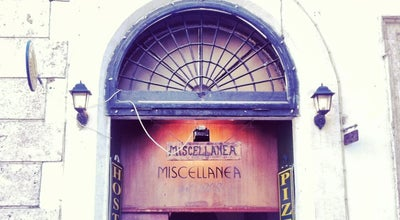 Photo of Italian Restaurant Miscellanea at Via Della Palombella, 34-35, Roma 00186, Italy