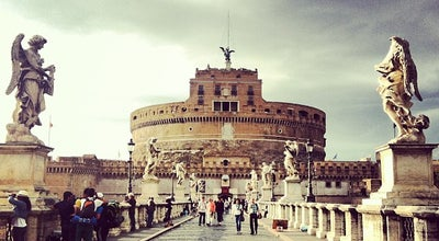 Photo of Castle Castel Sant'Angelo at Lungotevere Castello, Vatican City 00193, Italy