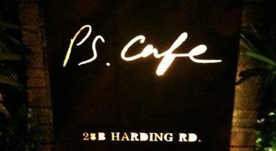 Photo of Cafe PS.Cafe at 28b Harding Rd, Singapore 249549, Singapore