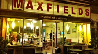 Photo of Coffee Shop Maxfield's House of Caffeine at 398 Dolores St, San Francisco, CA 94110, United States