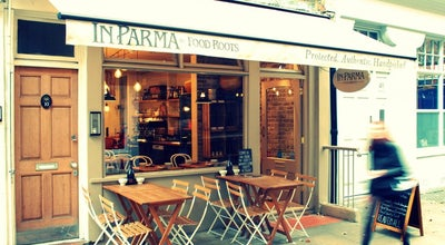 Photo of Italian Restaurant In Parma by Food Roots at 10 Charlotte Place, London W1T 1SH, United Kingdom