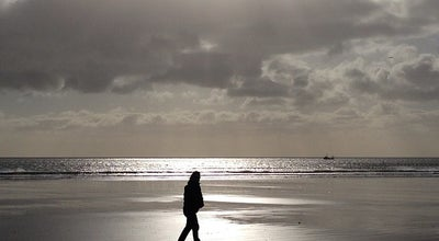 Photo of Beach Portmarnock Beach at Velvet Strand, Portmarnock, Ireland