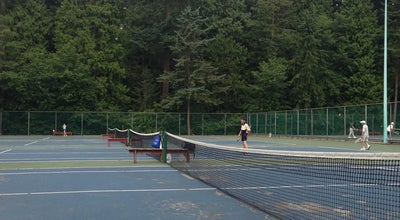 Photo of Tennis Court Central Park Tennis Courts at Burnaby, BC, Canada