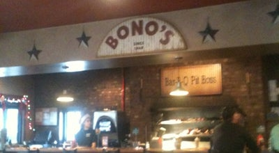 Photo of BBQ Joint Bono's Pit Bar-B-Q at 3303 San Pablo Rd S, Jacksonville, FL 32224, United States