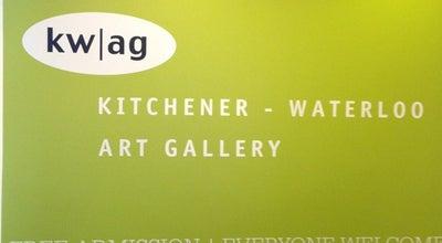 Photo of Art Gallery Kitchener-Waterloo Art Gallery at 101 Queen St. N., Kitchener, On N2H 6P7, Canada